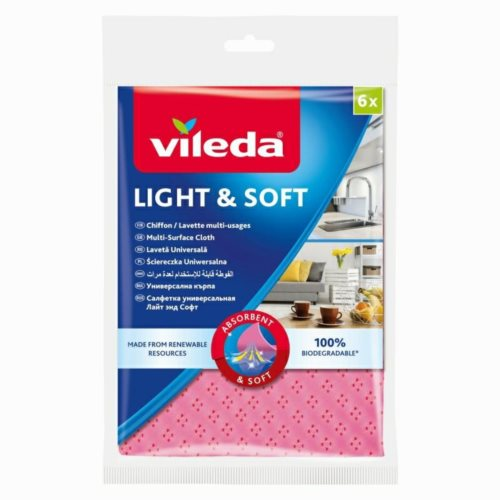 Vileda Ścierka Light Soft 6szt 163965